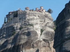 From Igoumenitsa to the Meteora monasteries, Greece