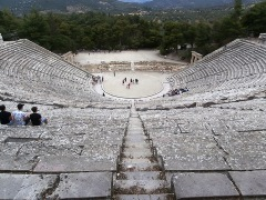 Epidaurus and the ancient Greek theater, Greece